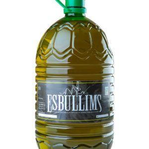 Oli d'oliva verge extra Esbullims (10 litres)